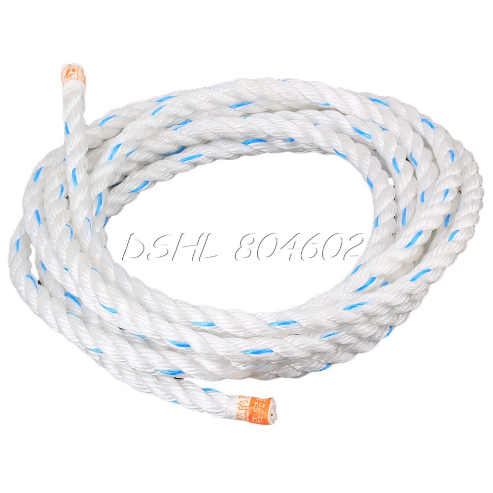 5M Premium Twisted Marine Anchor Line Boat Dock Rope Nylon Cord Lines 12mm Dia(China (Mainland))