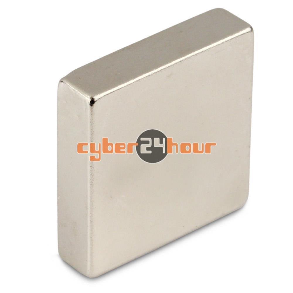 Гаджет  1 Big N50 Grade Strong Block Cuboid Magnet 40 x 40 x 10 mm Rare Earth Neodymium None Строительство и Недвижимость