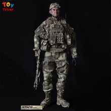 CalTek 1/6 doll set A-TACS CAMO Special operations team 12″ collectible Army action figure toys free shipping Triver Toy