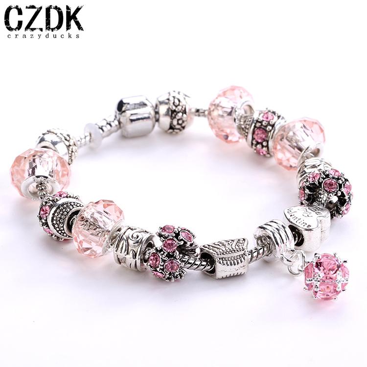European tibetan silver beads bracelets amp bangles with heart pandent