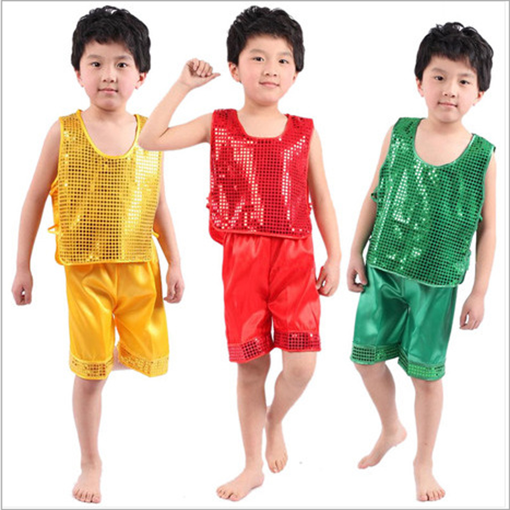 Primary school students Kindergarten boy performance clothing dance clothes suit boys suits practise attire kung fu costume - Children Performance Clothing store