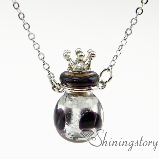 ball essential oil jewelry essential oil pendant diffuser aromatherapy jewelry diffusers glass vial pendant necklace<br><br>Aliexpress