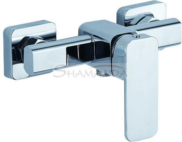 Free Shipping Promotions Shower Faucet In-Wall Bathroom Luxury Mixing Tap Chrome High-grade 1207 [5 years warranty]