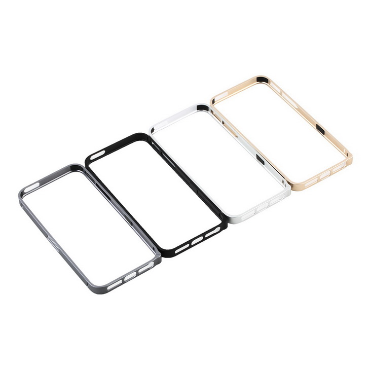 1pcs 100% Brand New Luxury 0.7mm Ultra thin Slim Aluminium Metal Bumper Frame Cover Case for iPhone 5 5S Wholesale(China (Mainland))