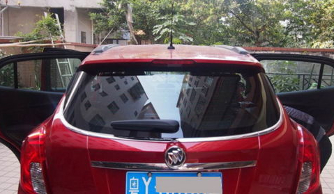 Stainless rear window side cover trim fit for OPEL VAUXHALL MOKKA BUICK ENCORE