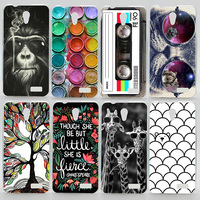 Case For Lenovo A319 Colorful Printing Drawing Plastic Cover for Lenovo A 319 Fashion Hard Phone Cases