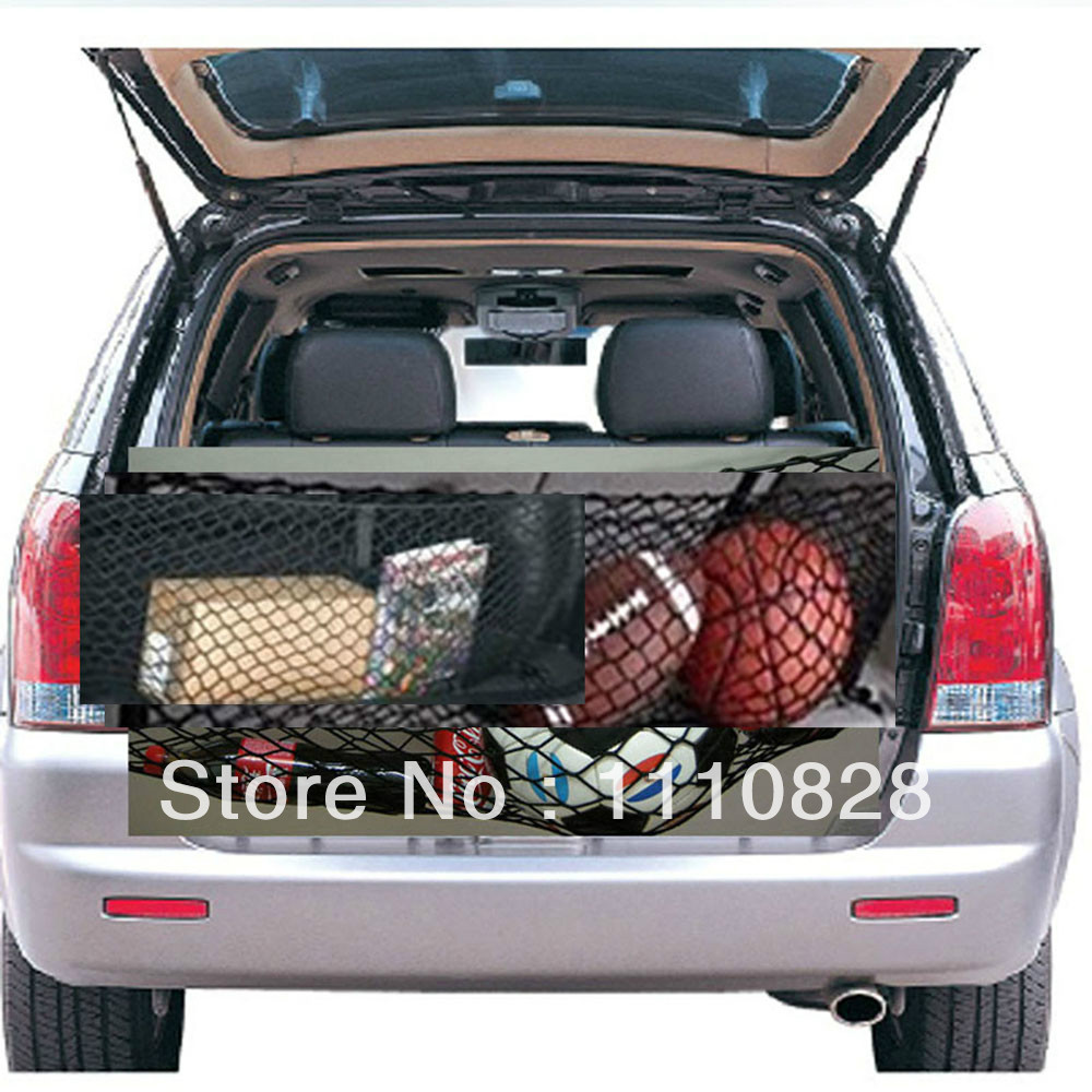 Free Shipping Luggage Trunk Envelope Elastic Organizer Cargo Net A For Ford Mustang 1994-2004(China (Mainland))
