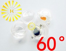 Buy FREE SHIPPING 100PCS 13mm Infrared IR LED mini Lens Angle 60 Degree 1W 3W monitoring High Power LED Diode Reflector Collimator for $15.00 in AliExpress store