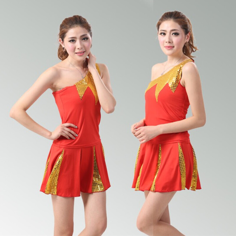 Free Shipping Sexy girl baseball team Cheerleaders Costume Fancy Dress Exotic Apparel Party Outfit Cheering Squad Suit(China (Mainland))