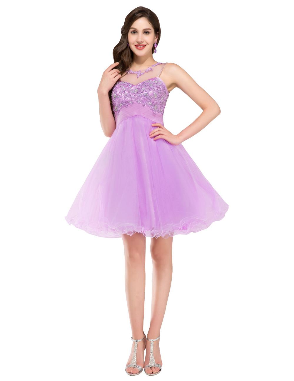 Light Purple Dresses For Juniors