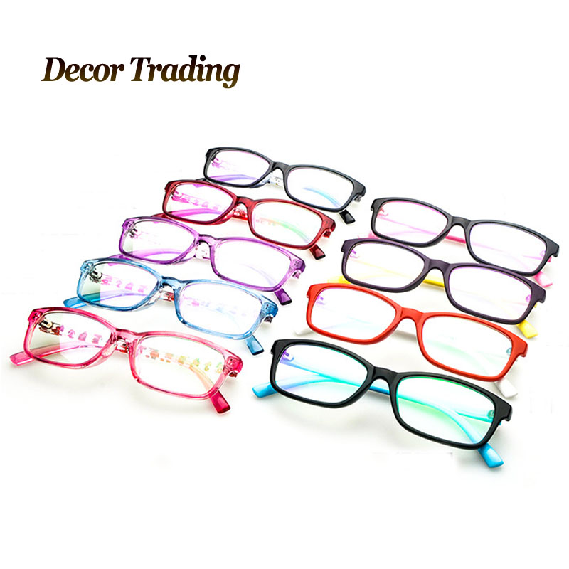 2015 New Cute Eyeglasses Fashion Eye Glasses Boys Girls Kids Optical Frame Computer Reading Glasses Frames Oculos De Grau 2809(China (Mainland))