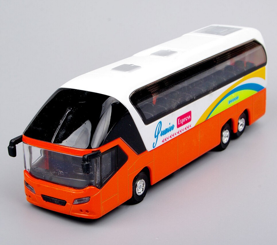 1:32 Scale Bus Models Toy New York Double Decker Sightseeing Tour Bus 1/32 Diecast Car Model Collectible Model(China (Mainland))