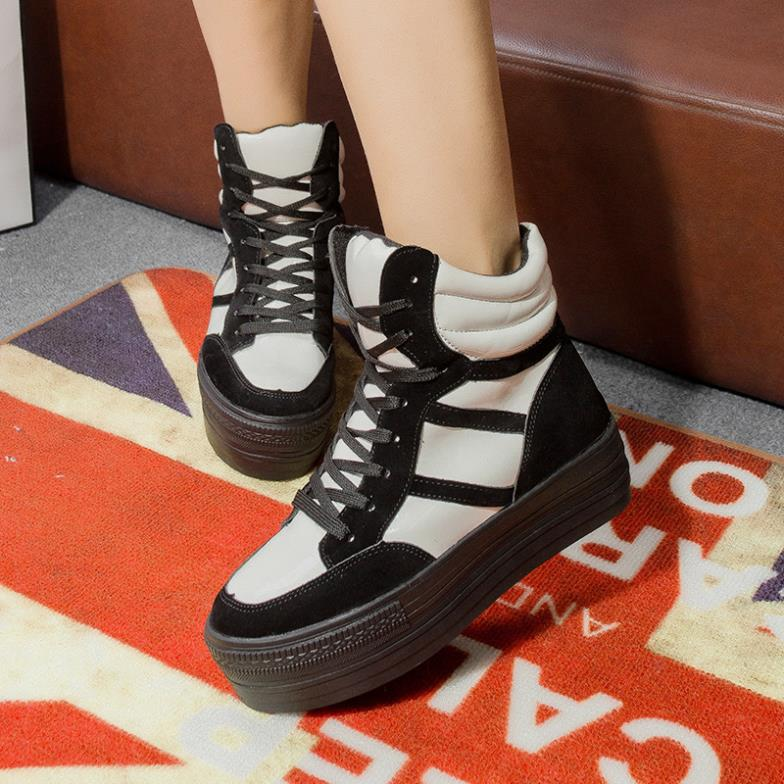 korean wave of designer shoes 2014 fall thick soled