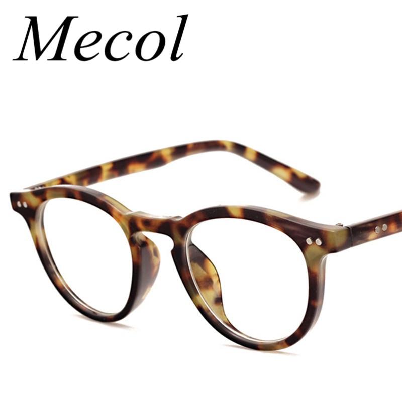 2016 Vintage Rivet Eyeglasses Eyewear Frames Women Eye Glasses Frames for Women Lady Round Optical Eyeglass Spectacle Frame M256