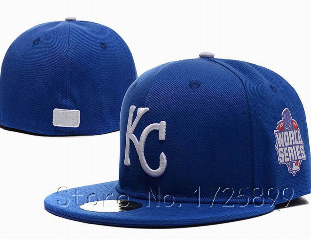 2015 world series s kansas city royals fitted hats