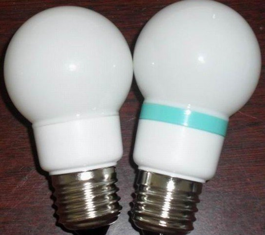 G50 LED Ball Bulb;AC120V/220V input;0.5-1W;E27 base;50*102mm;15pcs led;PVC milky housing,please advise the color