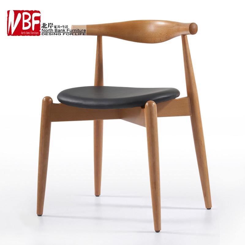 North shore arts minimalist furniture wood beech veneer for Ikea wooden dining chairs