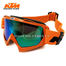 Hot sale KTM Motocross Goggles ATV Dirt Bike Glasses Oculos Antiparras Gafas motocross Sunglasses Use For Motorcycle Helmet(China (Mainland))