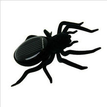 Solar Power toys Robot Insect Spider Children's educational toy Kids Gifts Trick(China (Mainland))