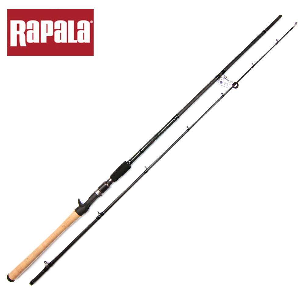 Rapala brand snakehead hunter carbon lure fishing rod mh for Rapala fishing codes