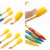 2016 Новый 1 Упак./4 Шт. Ddouble Мягкая Bamboo Уголь Nano кисть Главная Уход За Полостью Рта Двойной Ультра Мягкие Зубные Щетки Здоровья Зубов # BSEL