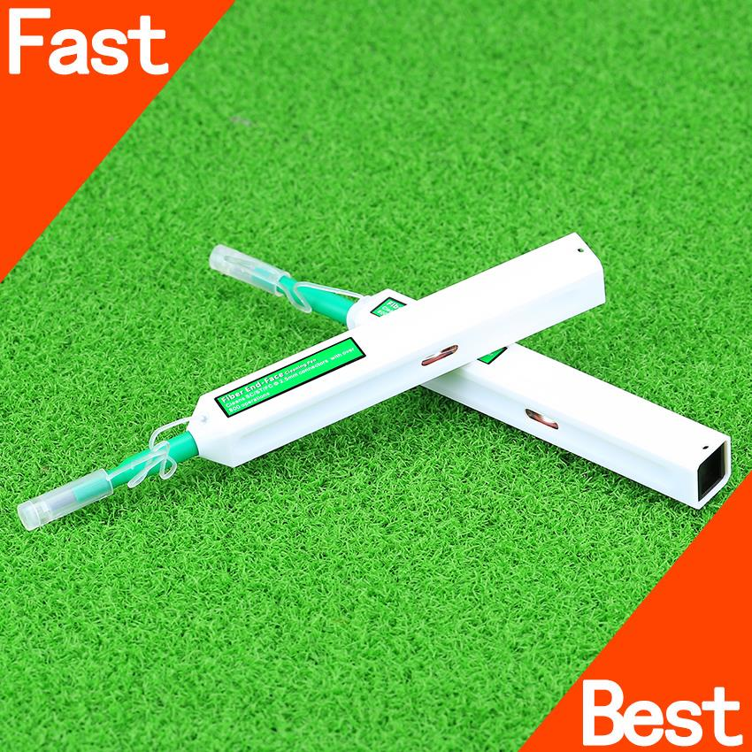 Fiber Optic Cleaner SC One Click Cleaner cleaning tool Optic Connector 2.5 mm Universal Fiber Optic Connector Cleaning Pen(China (Mainland))