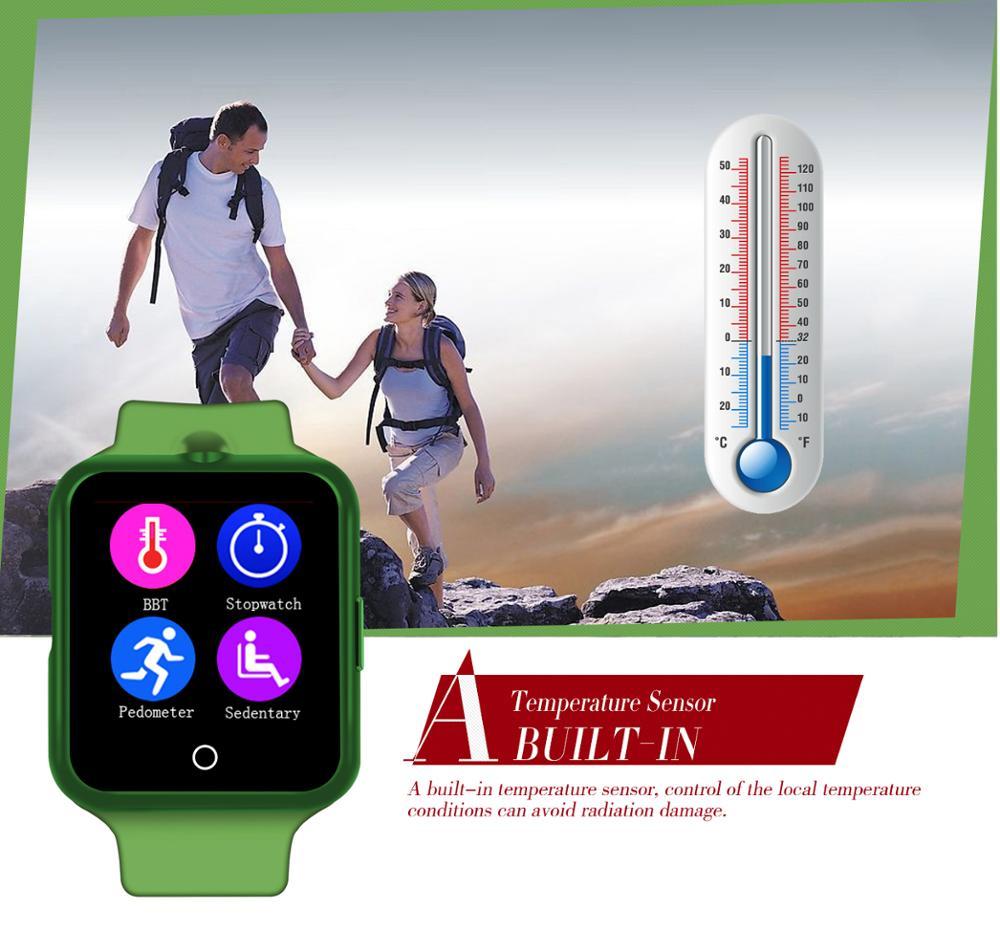 ถูก ร้อนBTLสมาร์ทนาฬิกาฉบับที่1 D3 MTK6261 1.44นิ้วหน้าจอสัมผัสบลูทูธ3.0กล้องระยะไกลเครื่องวัดอุณหภูมิสนับสนุนการตรวจสอบสุขภาพ