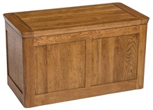 Antique solid oak blanket box(China (Mainland))