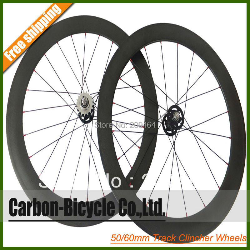 Велосипедное колесо Fixed gear bike wheels 50 60 track wheelset track frame fixed gear frame bsa carbon 1 1 2to 1 1 8 bike frameset with fork seatpost road carbon frames fixed gear frameset