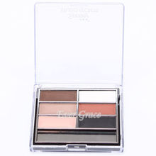 6 Colors Make Up Matte Eyeshadow Natural Nude Naked Eye Shadow Palette Cosmetic