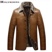 Newest Chaqueta Cuero Hombre Autumn Winter Men Jackets Fur Pu Coats Thick Leisure Single breasted Jaqueta De Couro Masculina(China (Mainland))