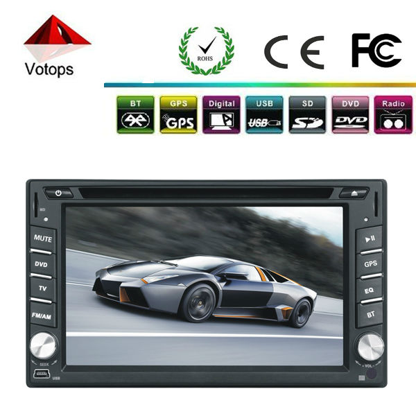 Free shipping! 2013 new universal Car DVD Player Double Din Bluetooth Touch Screen fit all cars(China (Mainland))