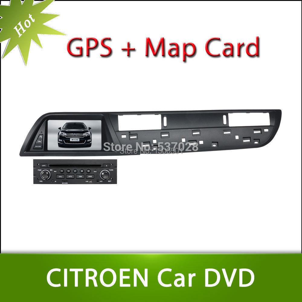 Hot 7inch Citroen C5 2013 Car DVD GPS Player Car Stereo Navigation Radio Audio Bluetooth A2DP Steering Wheel Control<br><br>Aliexpress