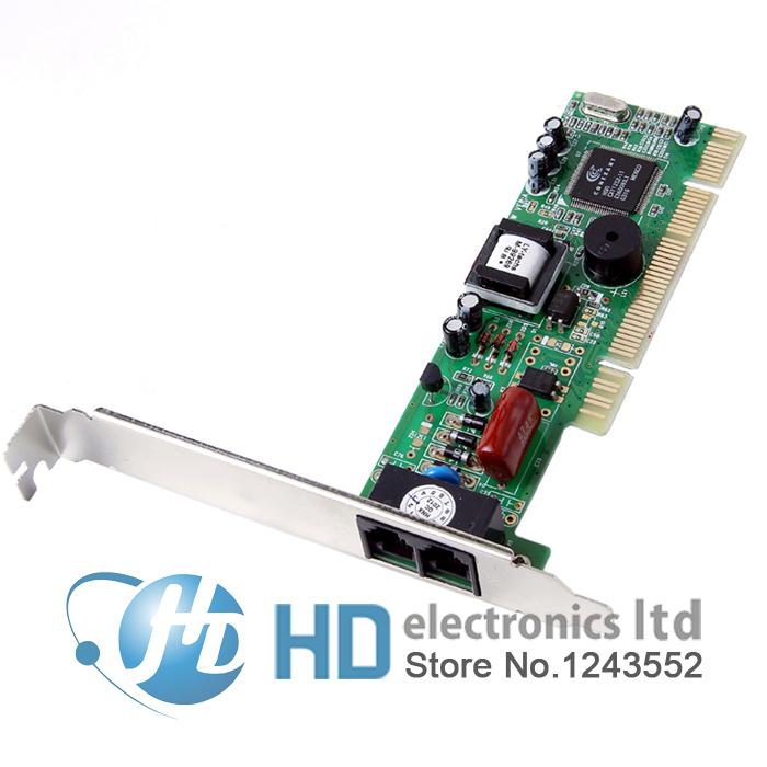 Brand New PCI Modem 56K Internal Data/Fax Voice Modem Windows XP Vista Win7/8 32 /64 bit V.92 V.90 Dial Up Fax Free shipping
