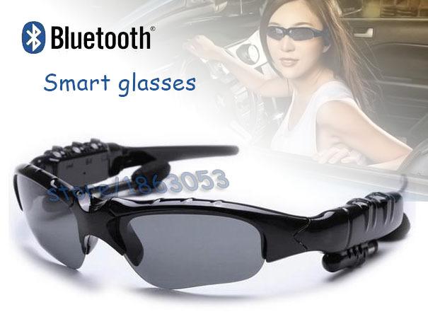 2015! NEW&HOT Sports Stereo Wireless Bluetooth 4.0 Headset Telephone Polarized Driving Sunglasses/mp3 Riding Eyes Glasses(China (Mainland))