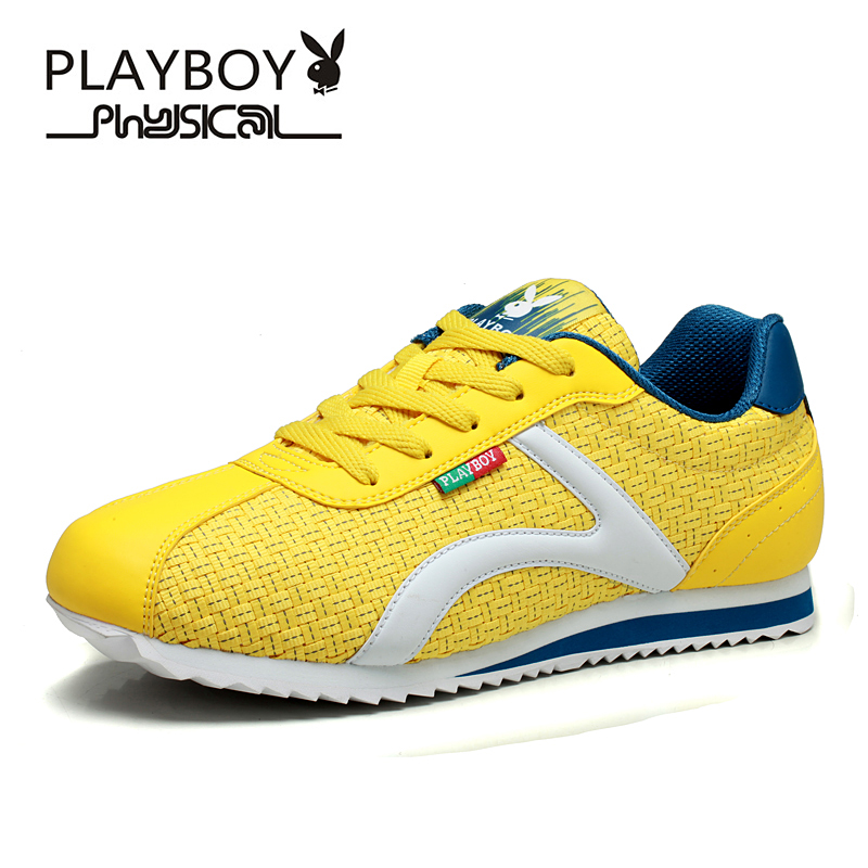 PLAYBOY Four season men shoes breathable casual mesh fashion leisure Summer Breathable - Feng shang co., LTD store