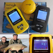 2014 New Colorful display wireless fish finder TL86 Portable Sonar LCD Fish depth Finder ice fishing finder Free Shipping(China (Mainland))