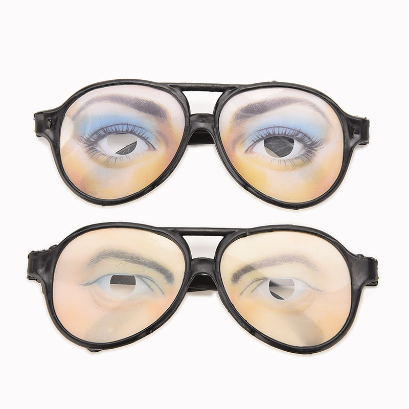 Frames men women Holiday Festival halloween decoration extremely funny glasses frame eyes frames mischief Decoration Accessory(China (Mainland))