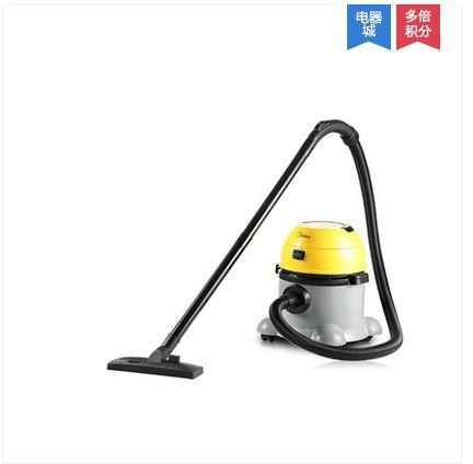 Free shipping Dry wet dual-purpose barrel type strong commercial household vacuum cleaner 10L(China (Mainland))
