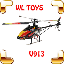 WLtoys V913 New Year Gift 80CM Big RC Helicopters Single Blade Remote Control Toys Helicoptero Electronic Toys LCD Controller