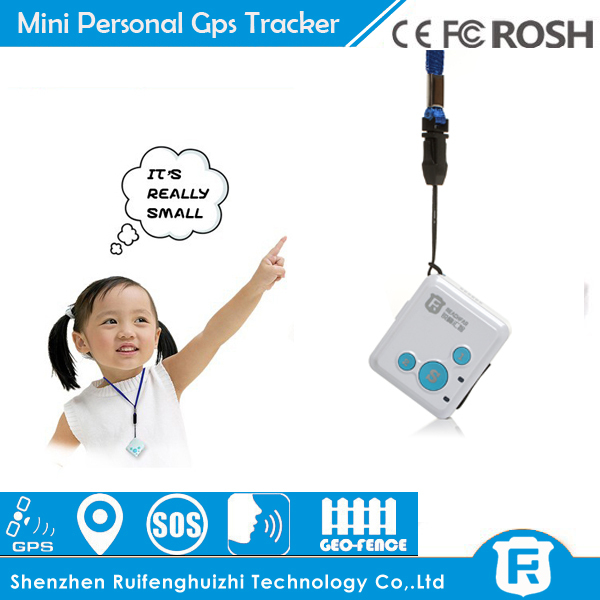 2015 electronic products worlds smallest gps tracking device mini children gps tracker necklace gps RF-V16(China (Mainland))
