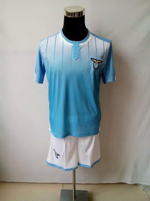 15-16 seasons Societa Sportiva Lazio S.p.A Soccer uniform11 miroslav klose Short blouse and short man football clothing DIY(China (Mainland))