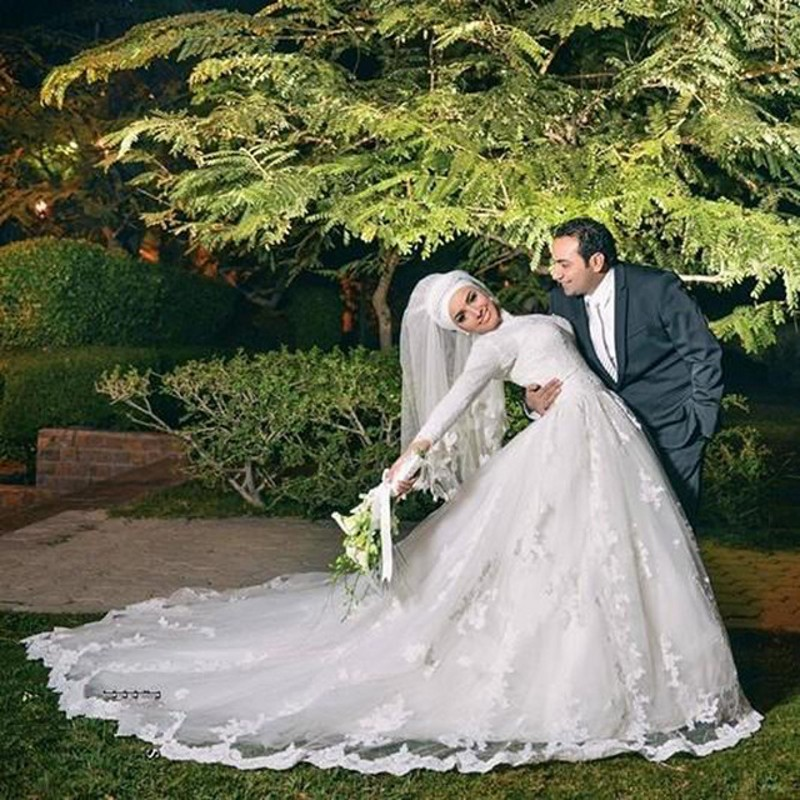 Popular beautiful muslim wedding dress buy cheap beautiful for Cheap muslim wedding dresses