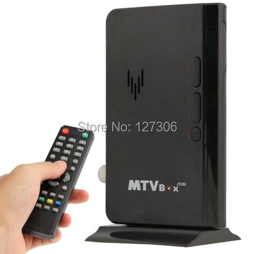 TV Receiver Box Global Mini LCD TV Receiver Box Digital Computer VGA TV Programs Tuner Receiver Dongle Monitor Model: 775(China (Mainland))