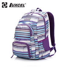 Luxcel Backpack For Student Teenager School bag Women Casual Daypacks travelling Backpack(China (Mainland))