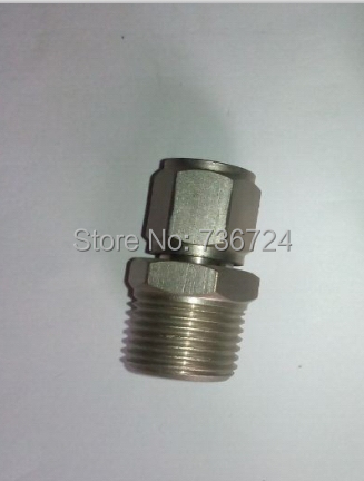 """10mm-1/2"""" PT thread male straight Compression Connector,BRASS COMPRESSION FITTING(China (Mainland))"""
