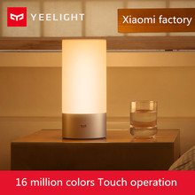 Buy Original Xiaomi Yeelight Smart Lights Indoor Bed Bedside Lamp 16 Million RGB Light Touch Control Bluetooth Mijia Mi home APP for $48.50 in AliExpress store
