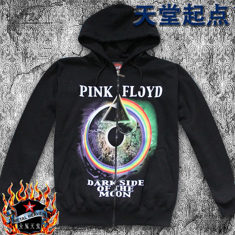 New Pink Floyd Hoodie Hip Hop Zipper Coat Autumn Winter Men Jacket Fashion Hooded Sweatshirt(China (Mainland))