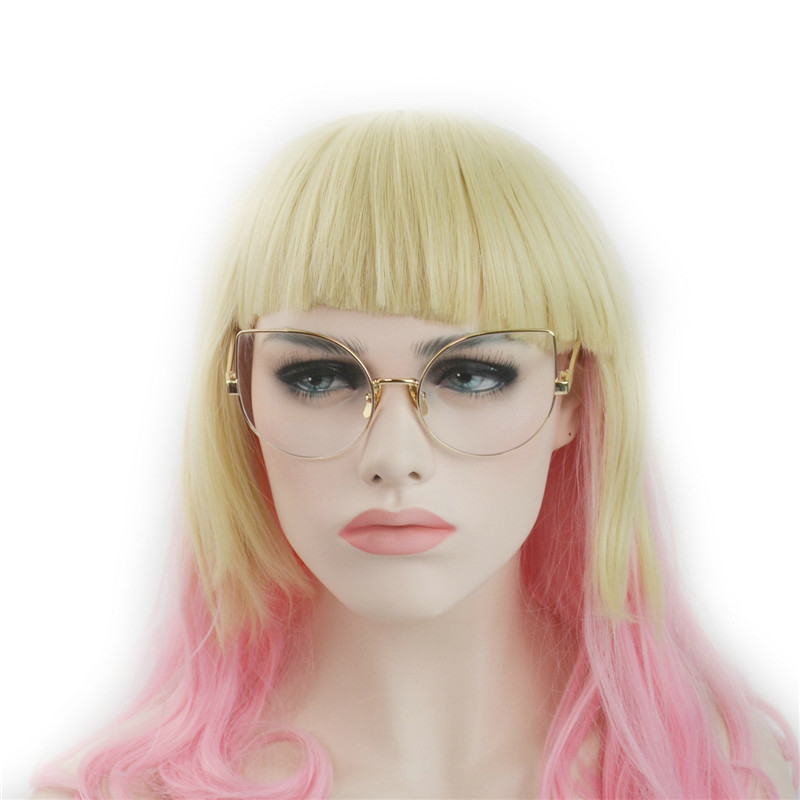 Fashion clear lens Women Glasses UV protection 81082(China (Mainland))