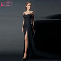 Sexy Black Evening Dresses long elegant prom dresses long dresses for wedding party elie saab dress
